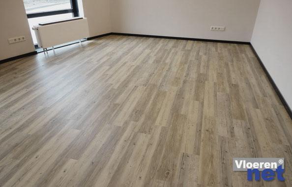 Pvc vloeren vinyl vloeren slijtvast en met een warm houtgevoel